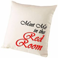 Fifty Shades Meet Me In The Red Room Cushion Cover