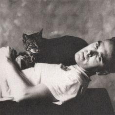 Morrissey & cat.