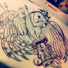 beautiful drawn tattoo designs - Google Search