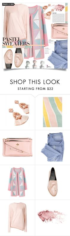 """Pastel Sweaters"" by courtneyscott-3 ❤ liked on Polyvore featuring Miss Selfridge, Novogratz Collection, Gucci, Essie, Chicnova Fashion, Rebecca Minkoff and STELLA McCARTNEY"