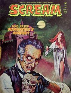 scream - n.6 june 1974