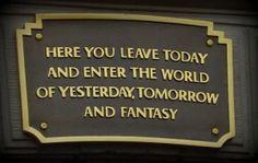 Disneyland Entrance Sign - Share YOUR Magical Disney Memories of Disneyland - www.wdwradio.com
