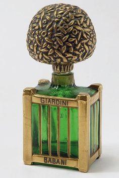 Giardini Perfume Bottle by Babani, circa 1920's.