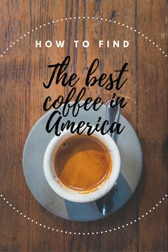America does have a great coffee culture, I promise - a practical guide to java in the USA. Read more at www.liverecklessly.com