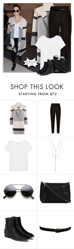 """""""Get the Look: Demi Lovato"""" by breathing-style ❤ liked on Polyvore featuring Vince, Jaeger, Splendid, Lana, Witchery and Ralph Lauren"""
