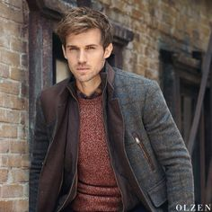 Hot Men, Hot Guys, Boy Fashion, Winter Fashion, Andrew Cooper, Actor Model, Man Style, Male Models, Dawn