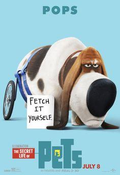 Comme des bêtes l The Secret Life of Pets (2016) l Pops