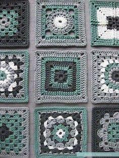 """Triple Puff"" Crochet Granny Square - Free Pattern & Tutorial"