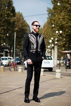 #street #style #men #fashion