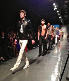 Photos from the 10th Annual Jeffrey #Fashion Cares: #CyndiLauper, #AndrejPejic, #EmmyRossum, #SeanAvery, #IrelandBaldwin, & dozens of #runway #models who strut their goods for #LGBT charities. See more photos: http://gaytraveler.wordpress.com/2013/04/08/jeffrey-fashion-cares-2013/