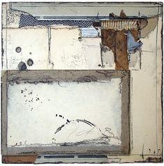 Crystal Neubauer Collage Mixed Media Fine Art Salvaged Material Altered