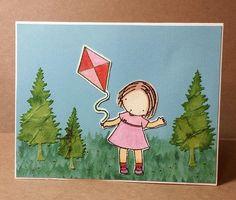 Card Created by Darla Green Using Diemond Dies Pine Tree Die Set.