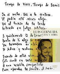 Luis Cernuda: vivir sin estar viviendo por Jorge Carrol. Palabra Virtual