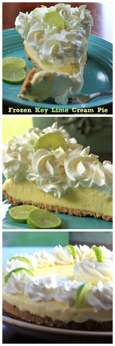 Frozen Key Lime Cream Pie Recipe