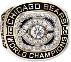 World Champions Super Bowl Ring, 1985.