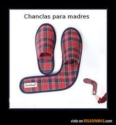 Zapatillas para madres.