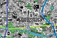 iHeartBerlin.de » Blog Archive » The cutest Berlin City Map ever