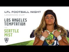 The Anniversary Season comes down to one final game, as two iconic teams, the Los Angeles Temptation and the Seattle Mist take to the worldwide stage of. Seattle Mist, Lingerie Football, Legends Football, Mists, Seasons, Youtube, Seasons Of The Year, Youtubers, Youtube Movies