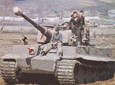 Panzerkampfwagen VI Tiger (8,8 cm L/56) Ausf. E (Sd.Kfz. 181) of schwere Panzer Abteilung 506 in Russia, 1944