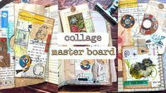 Collage Design, Collage Art, Paper Collages, Altered Books, Altered Art, Art Journal Techniques, Paper Crafts, Diy Crafts, Junk Art