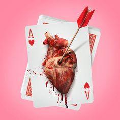 Heart Card - photocollage