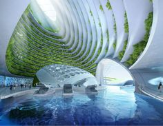 Belga propõe cidade submarina na orla do Rio feita de lixo do oceano e impressão 3D - BBC Brasil
