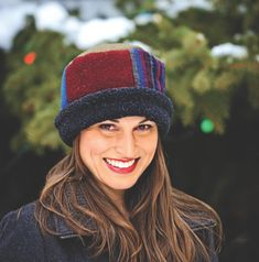 Eco-chic, Rolled Pillbox Hat