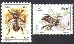 Algeria 1995 Bee Keeping Bee stamps