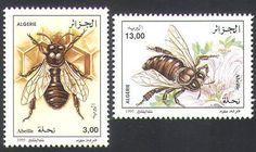 Algeria 1995 Bee Keeping Bee stamps