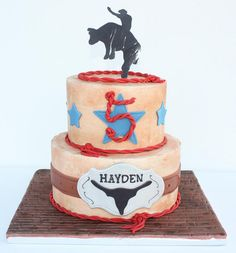 Bull Rider Cake, via Flickr.