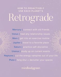 It's not all about Mercury! All planets go retrograde periodically. 💫 The areas that a planet rules can become weak, challenging, or… Astrology Planets, Astrology Numerology, Astrology Chart, Astrology Zodiac, Saturn Astrology, Astrology Meaning, Astrology Signs, New Moon Rituals, Mudras