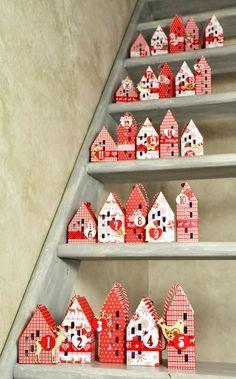 """Lilouscrappe: Calendrier de l'Avent """"Noël scandinave"""" pour TOGA."""