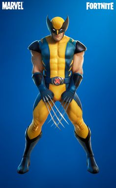 Wolverine, Skin Images, Iron Man Wallpaper, Best Gaming Wallpapers, Big Battle, Epic Games Fortnite, Iconic Characters, Disney Toys, Cute Pokemon