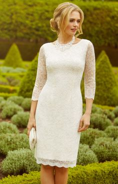 Katherine Lace Wedding Dress Ivory by Alie Street