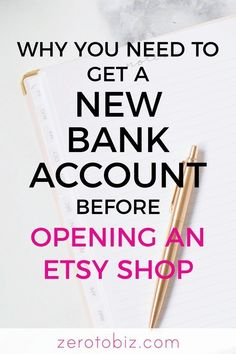 Opening an Etsy shop Here are a few reasons why you ll want to open a separate b. - My Pano - Opening an Etsy shop Here are a few reasons why you ll want to open a separate bank account. Craft Business, Business Tips, Online Business, Business Planning, Creative Business, Business Management, At Home Business Ideas, Business Bank Account, Business Baby