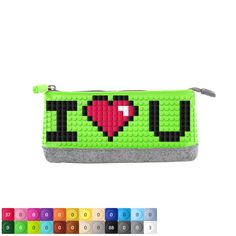 """Upixel Pencil Case design with """"I Love you"""" on it"""