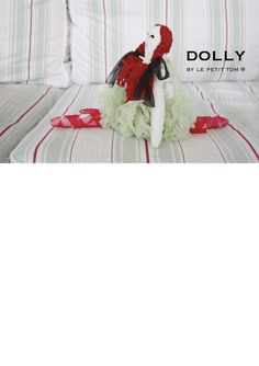 DOLLY by Le Petit Tom ® DRAGONFLY FAIRY DOLL light green | Le Petit Tom ®
