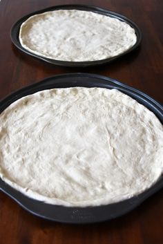 Basic Pizza Dough #recipe. I tried this recipe today- THE BEST! and easy too. I love easy. make sure you poke holes with a fork or you will get pita pockets:-) which btw this makes great flat bread/ pita pockets:-)