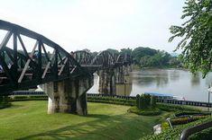 The Bridge on the River Kwai, Kanchanaburi, Thailand – Travel Information and Travel Guide