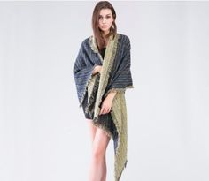 Winter Cashmere Tassel Long Shawl&Wrap
