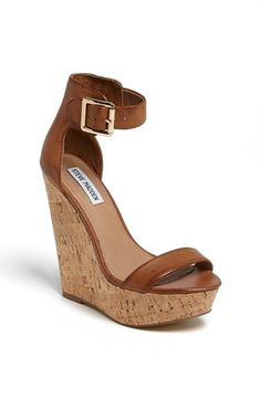 Steve Madden 'Xplicit' Wedge. Pair them with cable thigh high sock & you're in business for winter.