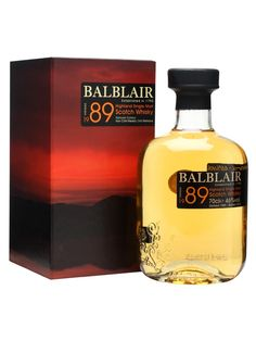 The third release of Balblair's popular 1989 vintage whisky, sitting in the middle of their range of dated drams. The strength has been upped to 46% from 43% for the previous release, giving this edition a little more oomph and flavour intensity. A very drinkable dram indeed. Bottler Distillery Bottling Vintage 1989 Country Scotland Region Highland Web Exclusive Price €116.37
