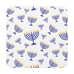 Hanukkah Menorah Pattern by Liora Hess (www.liorahess.com). If you like this image, it's on many different customizable items in my Zazzle store from stamps and stickers to business cards and t-shirts. It also makes a great background for your own images and words. Just click on through to purchase!