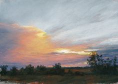 The drama of sunrise or sunset inspires awe. Enjoy a gallery of Lee A. Kimball, Becky Johnson and Stan Sperlak's spectacular renderings of the sun in pastel.