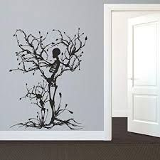 Shop for Gothic Wall Decal Halloween Decor Skeleton Art Sticker Tree Wall Art For Living Room Wall Vinyl. Get free delivery On EVERYTHING* Overstock - Your Online Art Gallery Shop!