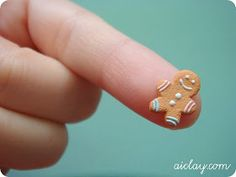 The Mini Food Blog: Gingerbread Men ~ Jocelyn Teo