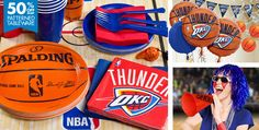Oklahoma City Thunder Party Supplies - Party City