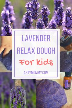 Lavender Chill-Out Play Doh – ARTY MOMMY: Relax your kids with sensory play with this DIY play dough recipe using essential oils. A great kid activity to promote play, quiet and relaxation. Plus, it smells wonderful. Sub in other essential oils for varying scents and effects.