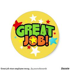 Shop Great job stars employee recognition stickers created by yourockawards. Reward And Recognition, Employee Recognition, Reward Stickers, Teacher Stickers, Classroom Activities, Toddler Activities, Free Printable Certificate Templates, Job Images, Incentives For Employees