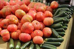 Tomatoes, Zucchini, Garden Veggies